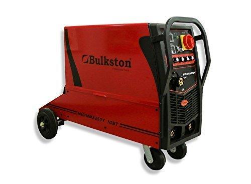 BULKSTON Digital 2-Funktions-Schutzgasschweißanlage Multi MIG250Y MIG/MAG - ARC(MMA) - 380 V (3 Jahre Garantie)