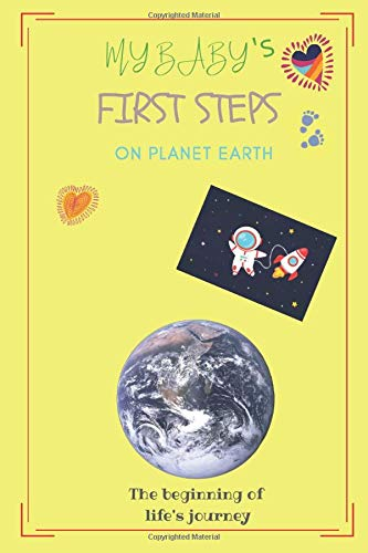 My baby's first steps on planet earth