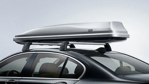 BMW Dachbox 320 weiß/schwarz Passend für 1er E81, E87, F20, F21 und 3er E36, E46, E90(LCI), E91(LCI), E92(LCI), F30, F31 und 5er E39, E60(LCI9, E61(LCI), F10, F11 und 7er E38, E65, E66, F01(LCI), F02 und X1 E84 und X3 E83(LCI), F25 und X5 E53, E70(LCI) u