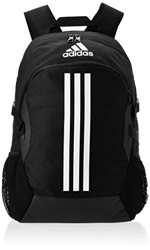 adidas Unisex-Adult Power V Luggage- Messenger Bag, Black/White, NS