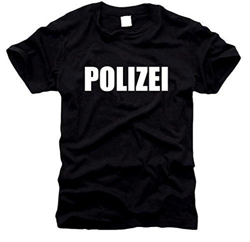 T-shirt de police allemande Taille XL
