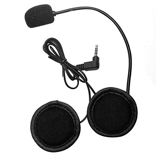 Nihlsen Micrófono Altavoz Auriculares V4 / V6 Interfono Auriculares universales Clip de intercomunicación para Casco para Dispositivo de Motocicleta