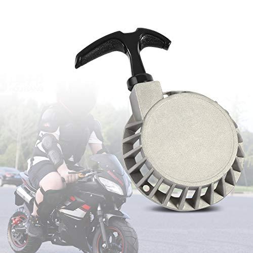 Pull Starter, Mini Alloy Pull Starter Recoil Pull Starter Assembly for Atv 49cc Pocket Bike Minimoto Quad