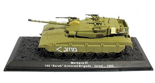 Panzer Altaya 1/72Merkava III 188Barak Brigade Israel Diecast