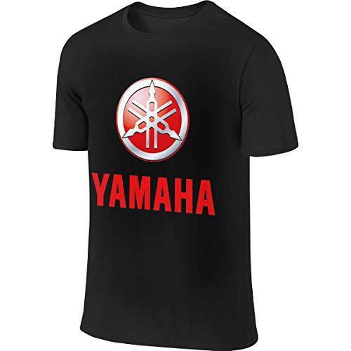 Men's Designed Fashion Tee Yamaha Motorcycles Logo T-Shirts,T-Shirts & Hemden(Large)