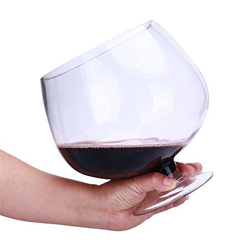 Vasos De Vidrio Taza De Cerveza Vino Jugo De Frutas Proceso De Vidrio Multipropósito De Gran Tamaño Grande para Entretenimiento Juegos Ocio (Size : 1500ml)