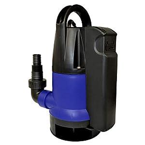 BOMBA SUMERGIBLE para AGUAS SUCIAS - Dirt-Star-Extra-SS 550-1 ELECTROBOMBA SUMERGIBLE aspiración plana, con CABLE DE 10m, INTERRUPTOR DE FLOTADOR integrado, bomba para irrigación y drenaje