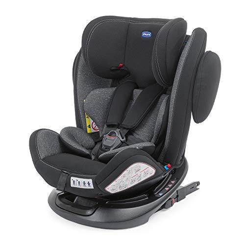Chicco Unico Plus - Silla de coche reclinable para bebés de 0 - 36 kg, color gris (ombra)