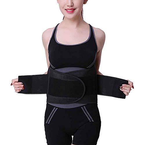 QLING Waist Trainer Belt,Women Men Sports Slimming Body Shaper Band,Easy Wear Waist Trimmer for Fitness Workout