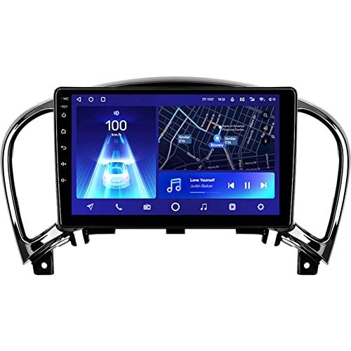 Amimilili Android 10 GPS Navigatore Autoradio Lettore multimediale per Nissan Juke 2010-2014 Supporto Bluetooth/WiFi/Controllo del Volante/carplay/Telecamera Posteriore,8core 4g+WiFi: 4+64g