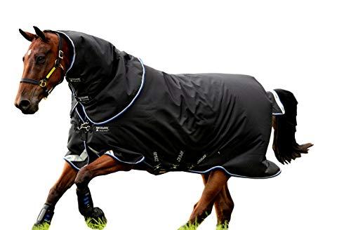 Horseware Amigo Bravo 12 Plus MittlereWahlbeteiligung Teppich 145cm Black/Blue & Black