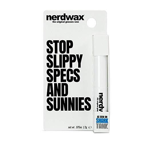 New Nerdwax Slimline Design – Single | Stop Slipping Brille wie in Shark Tank