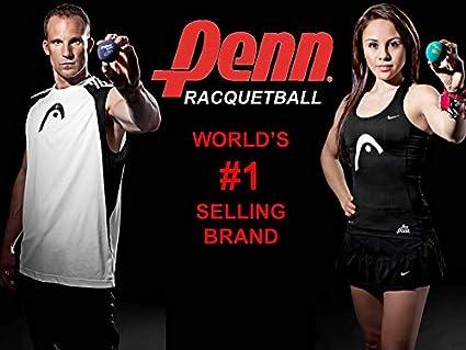 Penn Purple PRO HD Racquetball 3//CN