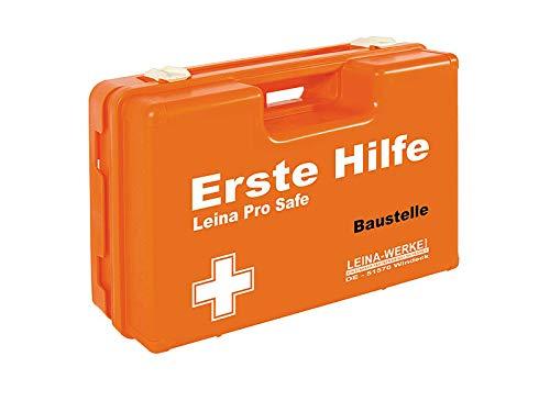 LEINAWERKE 38100 Erste Hilfe-Koffer SAN (Pro Safe) Pro Safe Baustelle, 1 Stk.