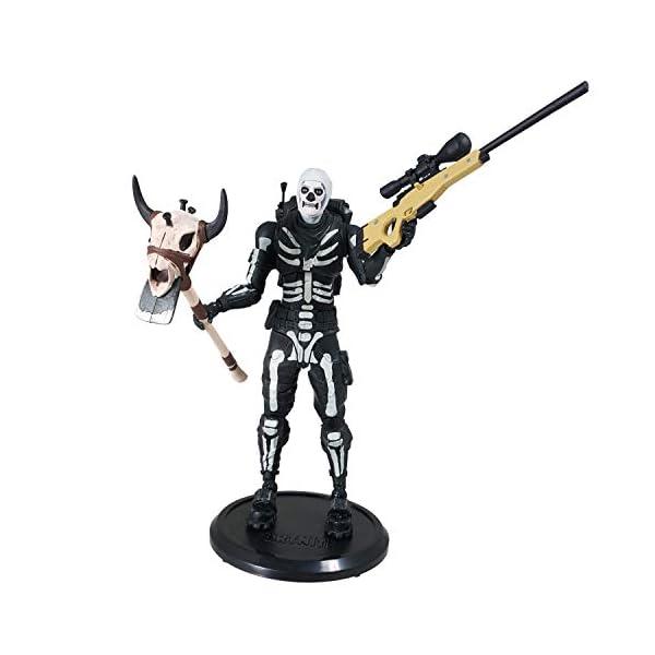 Fortnite - Figura articulada Skull Trooper 18cm 4