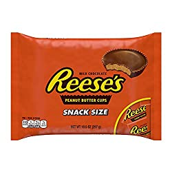 REESE'S Snack Size Peanut Butter Cups, 10.5 Ounce