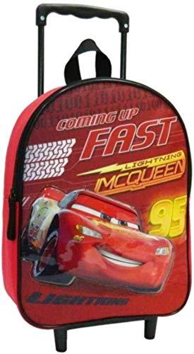 Sac A Dos A roulettes 31Cm Rouge Cars