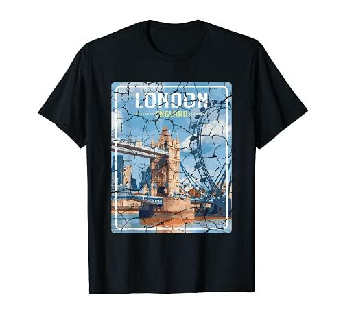 City de Londres Inglaterra Aventurero Camiseta