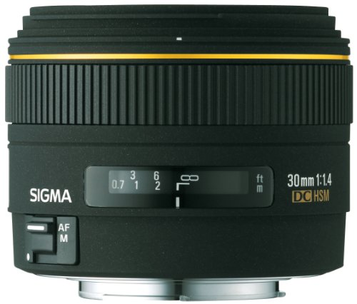 Sigma 30mm f/1. 4 ex dc lens for minolta and sony digital slr cameras