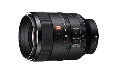 Sony SEL100F28GM 100mm f2.8 Medium-telephoto Fixed Prime Camera Lens, Black from Sony
