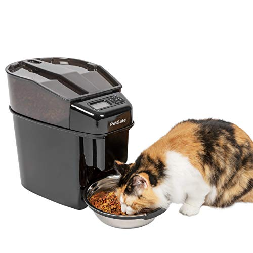 PetSafe Healthy Pet Simply Feed - Automatic Dog and Cat Feeder - Slow...
