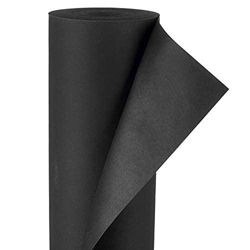 Hoberg Mauvaise Herbe Fleece Premium Quality 150 g/m², 50 m x 1m | Coupé Individuellement sur Mesure, particulièrement résistant à la déchirure, aux intempéries, Respirant et imperméable à la lumière