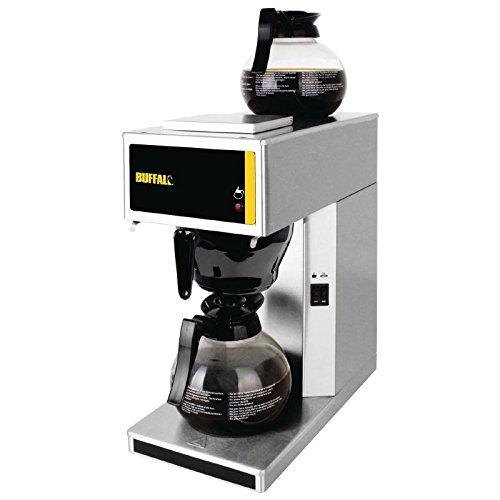 Buffalo Kaffeemaschine Leistung 21kW Kapazitaet 18 Liter Manueller Betrieb