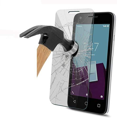 FoneExpert 2 Pack - Vodafone Smart Ultra 7 Protector de Pantalla, Ultra Tanque Transparente Cristal 9H Cristal Templado Glass Protector...