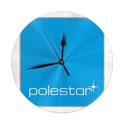 gardenia store Volvo Polestar Logo Rotonda Orologio da Parete Home Decor 9.84inch