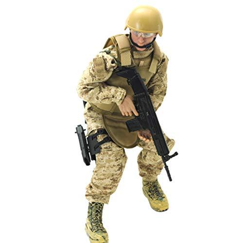 CT-Tribe Figuras de soldados de 1/6, 30 cm, figura de acción de soldados, juguete militar, colección de fans militares, sello marino
