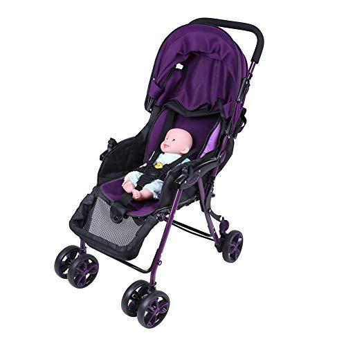 5 Punti Regolabile Sostituzione Sicurezza Cinture Passeggino Cintura Imbracatura Titolare Seggiolone Cinghie Universale Rotante Bambini Protezione per Carrozzina Seggiolone (Nero)