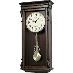 Rhythm Clocks Rembrant II Wooden Musical Mantel Clock