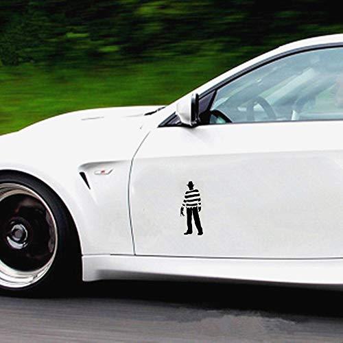 Auto Aufkleber Autoaufkleber Freddy Krueger Nightmare On Elm Street für Auto Auto Stoßstange Fenster Aufkleber Aufkleber Decals