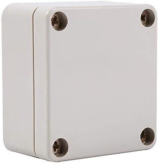 Bo/îte de Bo/îtier de Jonction Electrique Etanche IP65 Bo/îtier de Connexion Ext/érieure en Plastique ABS Bo/îte de Jonction Ext/érieure pour Bo/îtier de Projet 115 * 90 * 55mm