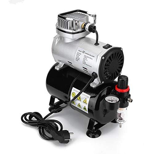 FOLOSAFENAR Mini Bomba de Aire de compresores de Aire con Ajuste de presión para Interiores