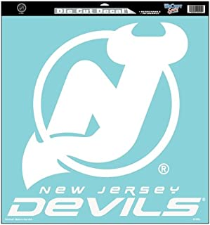 Wincraft New Jersey Devils 18x18 Die Cut Decal - New Jersey Devils 18-in