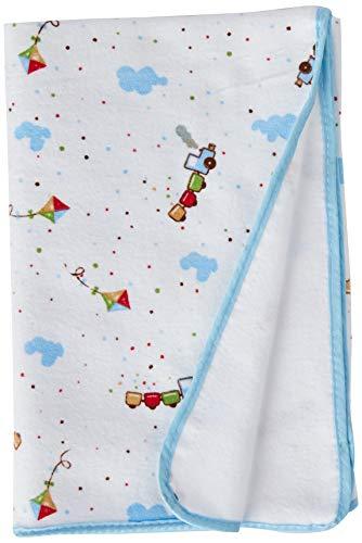 Cobertor Estampado, Papi Textil, Azul, 90Cmx70Cm