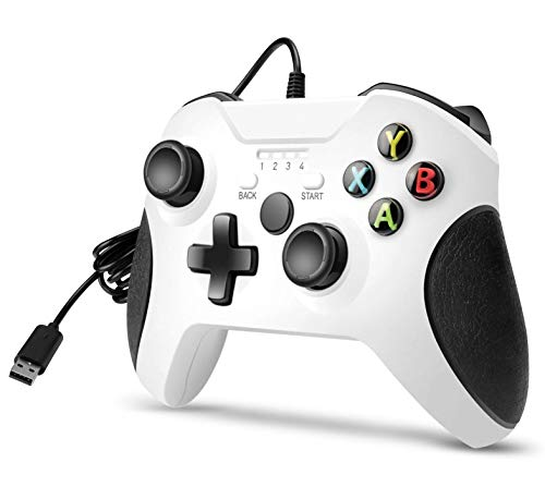 Wired Controller, Compatible with Xbox One/One S/One X/One Elite/Windows...