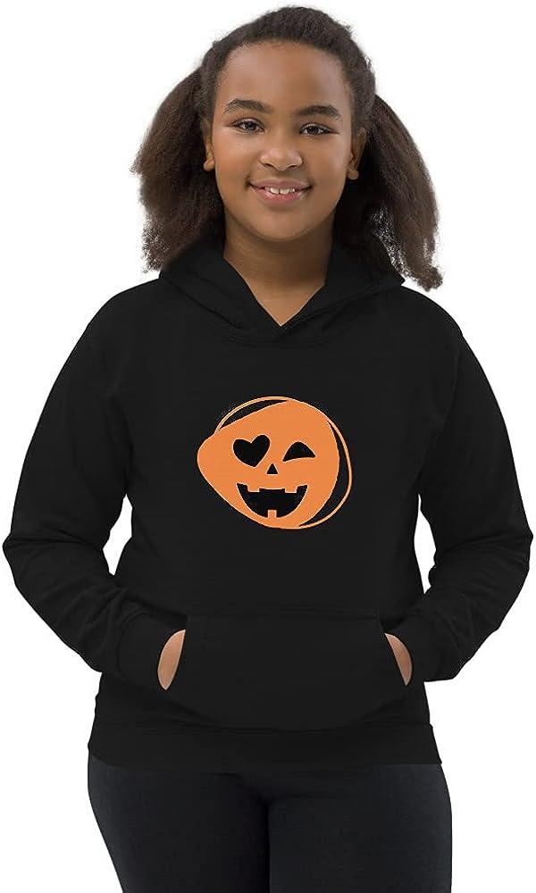 Winky pumpkin Kids Hoodie
