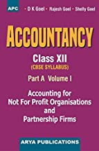 Accountancy (Part-A) Vol-I, Class- XII