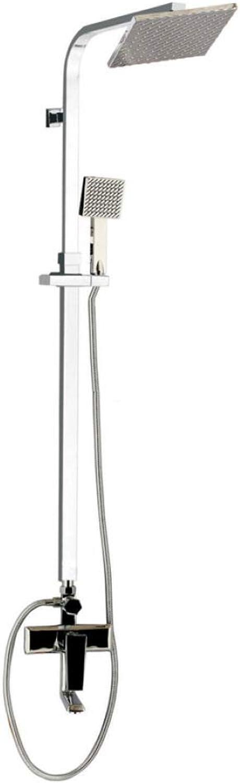 WVX Bathroom Shower Mixer Set,Shower Set, Copper, Cast, Shower, Shower, Multifunction, Sprinkler, Rain, Wall Mount, Shower, Shower Set