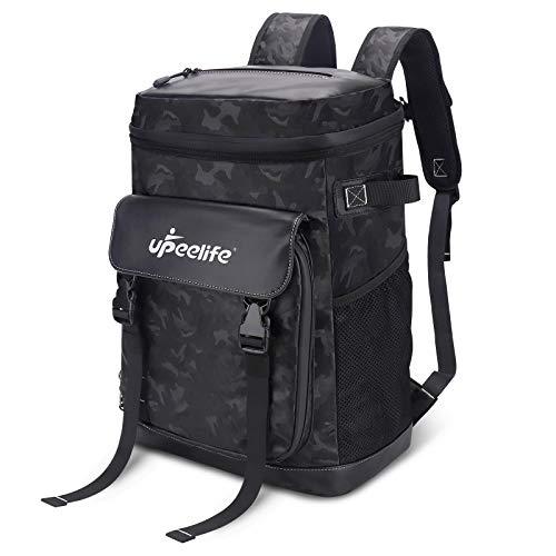 Upeelife Large Cooler Backpack with Adjustable Blanket Fixing Strap,...