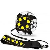 Football Kick Trainer,Aiuto per allenamento di calcio,Solo Close Control Calcio tiro attrezzature allenamento calcio abilità miglioramento pratica per bambini, adulti adatto per palla taglia 3 #4 #5