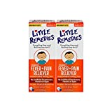 Little Remedies Children's Fever & Pain Reliever | Grape | 4 FL OZ | 2 Pack