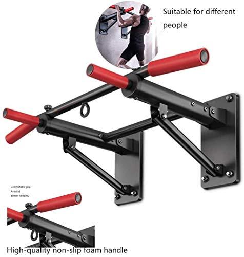 Pull-up apparaat Binnenlands Binnen Parallel Bars Hangring Zandzak Plank Muur Opvouwbare Brancard (Kleur: Zwart Maat: 97 5 * 56 * 31 7cm)(Upgrade)