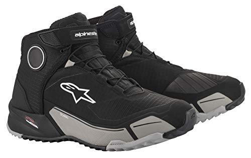 Alpinestars Men's CR-X Drystar Motorcycle Shoe, Black/Cool Gray, 11
