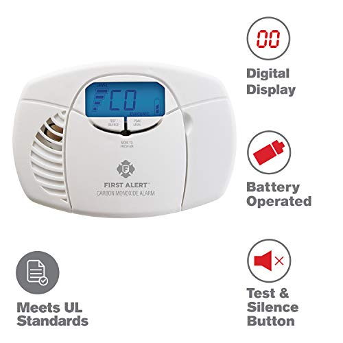 First Alert Carbon Monoxide Detector Alarm Now $23.97 (Was $49.99)