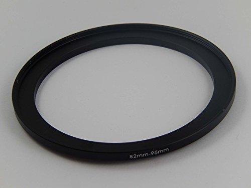 vhbw Step-Up-Ring Durchmesser 82mm auf 95mm passend für Kamera, Digitalkamera Objektive - schwarz