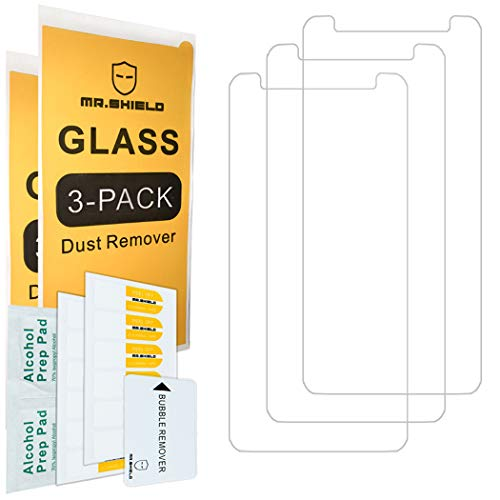 [3-Pack]-Mr.Shield For ZTE Avid 579 [Tempered Glass] Screen Protector [Japan Glass With 9H Hardness] with Lifetime Replacement