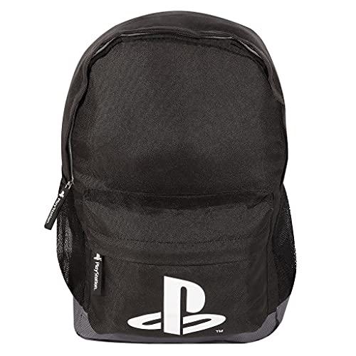 Playstation Logo Jungen Rucksack   Official Merchandise   Back to School Gamer Rucksack, Geburtstag Geschenk-Idee für Jungen